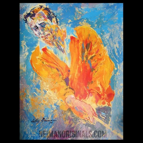 Arnold Palmer, The Legend by LeRoy Neiman