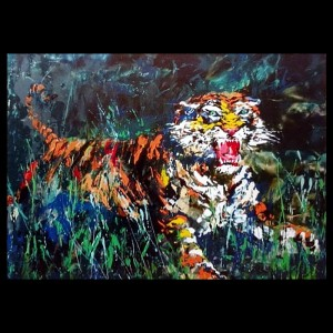 Young Tiger, from Safari Series