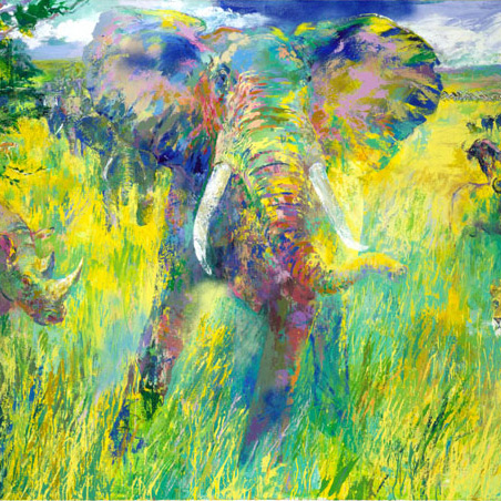 Limited Edition Serigraphs by LeRoy Neiman