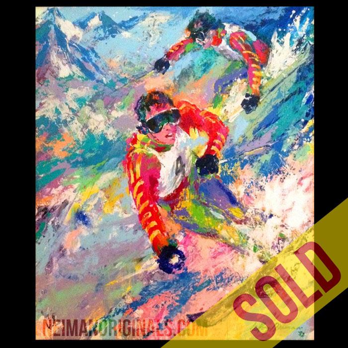 Skiing Twins (Phil & Steve Mahre)