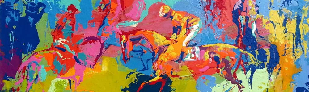 Riders Up by LeRoy Neiman