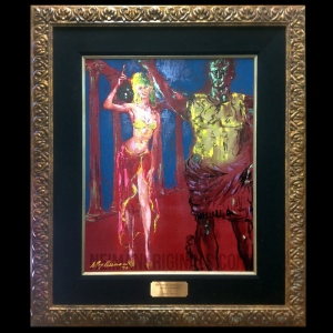 Girls of Caesar's Palace: Wine Goddess (framed)