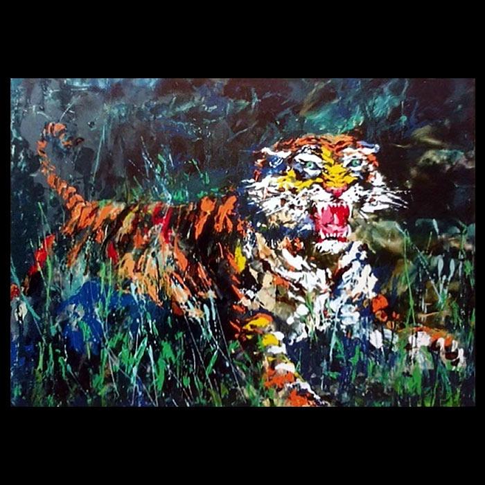 Young Tiger, from Safari Series