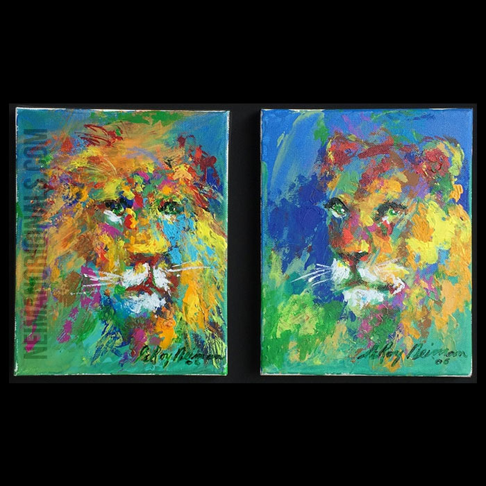 Lion & Lioness