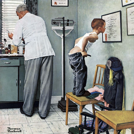 Norman Rockwell Serigraphs