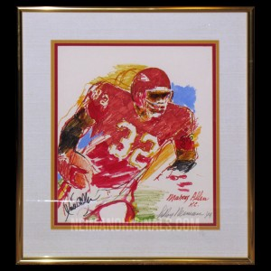 Marcus Allen, Kansas City Chiefs (framed)