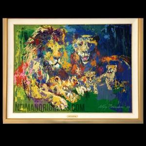 Lion's Pride (framed)